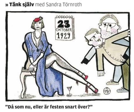 Tänk Själv, Ålandstidningen, 2015