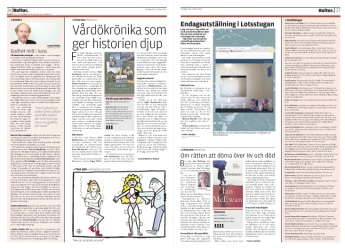 Tänk Själv, Ålandstidningen, 2015.