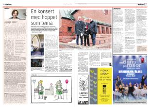 Tänk Själv, Ålandstidningen, 2016.